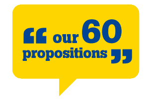 Our 60 propositions