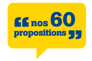 Nos 60 propositions